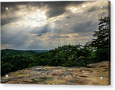 The Peoples Rock Acrylic Print