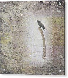 The Perch Acrylic Print by Nadine Berg