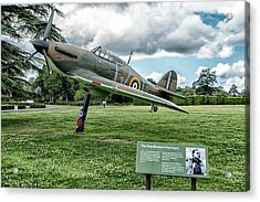 The Pete Brothers Hurricane Acrylic Print by Alan Toepfer