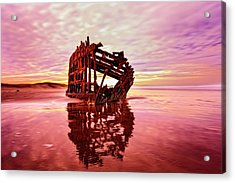 Peter Iredale Fantasy Acrylic Print