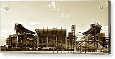 The Philadelphia Eagles - Lincoln Financial Field Acrylic Print by Bill Cannon