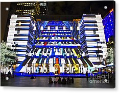 The Piano - Customs House - Sydney Acrylic Print