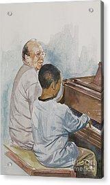 The Piano Lesson Acrylic Print
