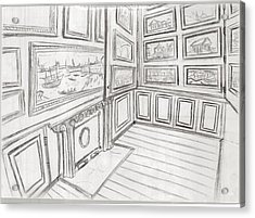 The Picture Gallery At The Soane Museum 2 Acrylic Print