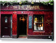 The Pie Maker Acrylic Print by Lexa Harpell