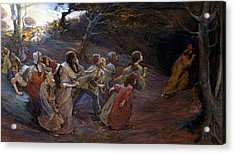 The Pied Piper Of Hamelin Acrylic Print