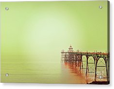 Acrylic Print featuring the photograph The Pier 2 by Colin and Linda McKie