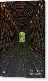 Acrylic Print featuring the photograph The Pier Bridge by Edward Fielding
