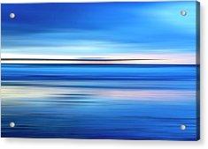 The Pier Acrylic Print by Joseph S Giacalone