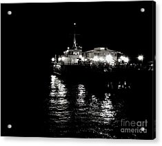 The Pier Acrylic Print by Vanessa Palomino