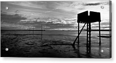 The Pilgrims Refuge Acrylic Print by Max Blinkhorn
