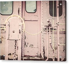 The Pink Caboose Acrylic Print