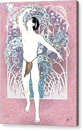 The Pink Dance Acrylic Print