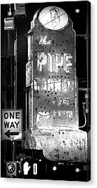 The Pipe Corner Acrylic Print