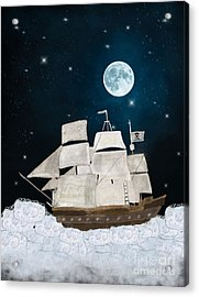 The Pirate Ghost Ship Acrylic Print