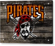 The Pittsburgh Pirates 1a Acrylic Print by Brian Reaves