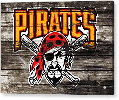 The Pittsburgh Pirates 1c Acrylic Print by Brian Reaves