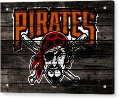 The Pittsburgh Pirates 1d	 Acrylic Print by Brian Reaves