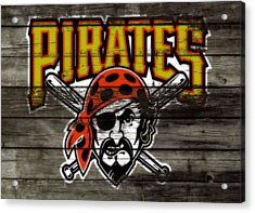 The Pittsburgh Pirates Acrylic Print by Brian Reaves