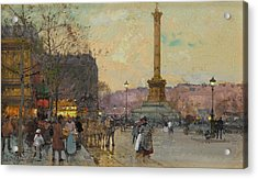 The Place De La Bastille Acrylic Print