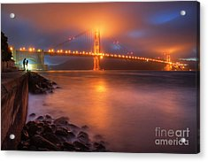 Acrylic Print featuring the photograph The Place Where Romance Starts by William Lee