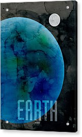 The Planet Earth Acrylic Print