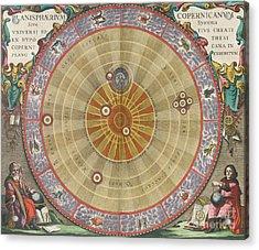The Planisphere Of Copernicus Harmonia Acrylic Print by Science Source