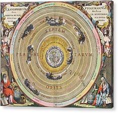 The Planisphere Of Ptolemy, Harmonia Acrylic Print