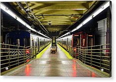 Acrylic Print featuring the photograph The Platform by Rand