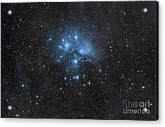 The Pleiades, Also Known As The Seven Acrylic Print by John Davis