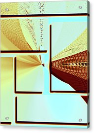The Point Acrylic Print by Susan Leggett