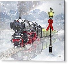 The Polar Express Acrylic Print by Juli Scalzi