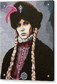 The Polish Countess Acrylic Print by Irina Melenchuk