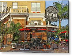The Ponce De Leon Hotel Acrylic Print