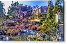 The Pond At Peddler's Village Acrylic Print