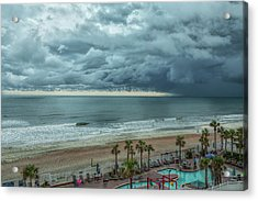 The Pool Is Closed Acrylic Print