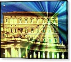 The Pope's Window Acrylic Print by Jen White