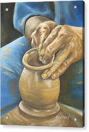 The Potter Acrylic Print