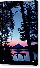 The Power Of Two Acrylic Print