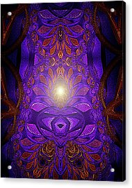 The Power Within Acrylic Print by Mimulux patricia no No