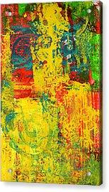 The Power Within Acrylic Print by Wayne Potrafka