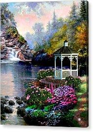 The Prayer Garden Acrylic Print