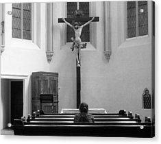 The Prayer Acrylic Print