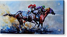 The Preakness Stakes Acrylic Print