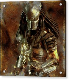 The Predator Scroll Acrylic Print