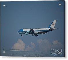 The President's Aircraft Acrylic Print