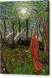 The Priestess Of Ealon Acrylic Print