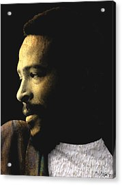 The Prince Of Soul - Marvin Gaye Acrylic Print