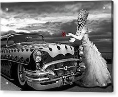 The Prince Of The Highway Acrylic Print by Larry Butterworth
