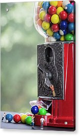 The Problem With Gumball Machines Acrylic Print
